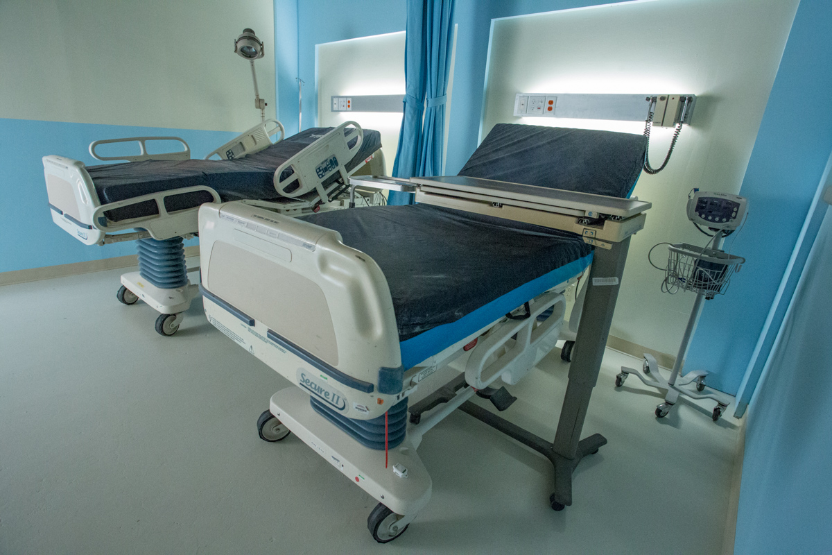 hospital for filming in la