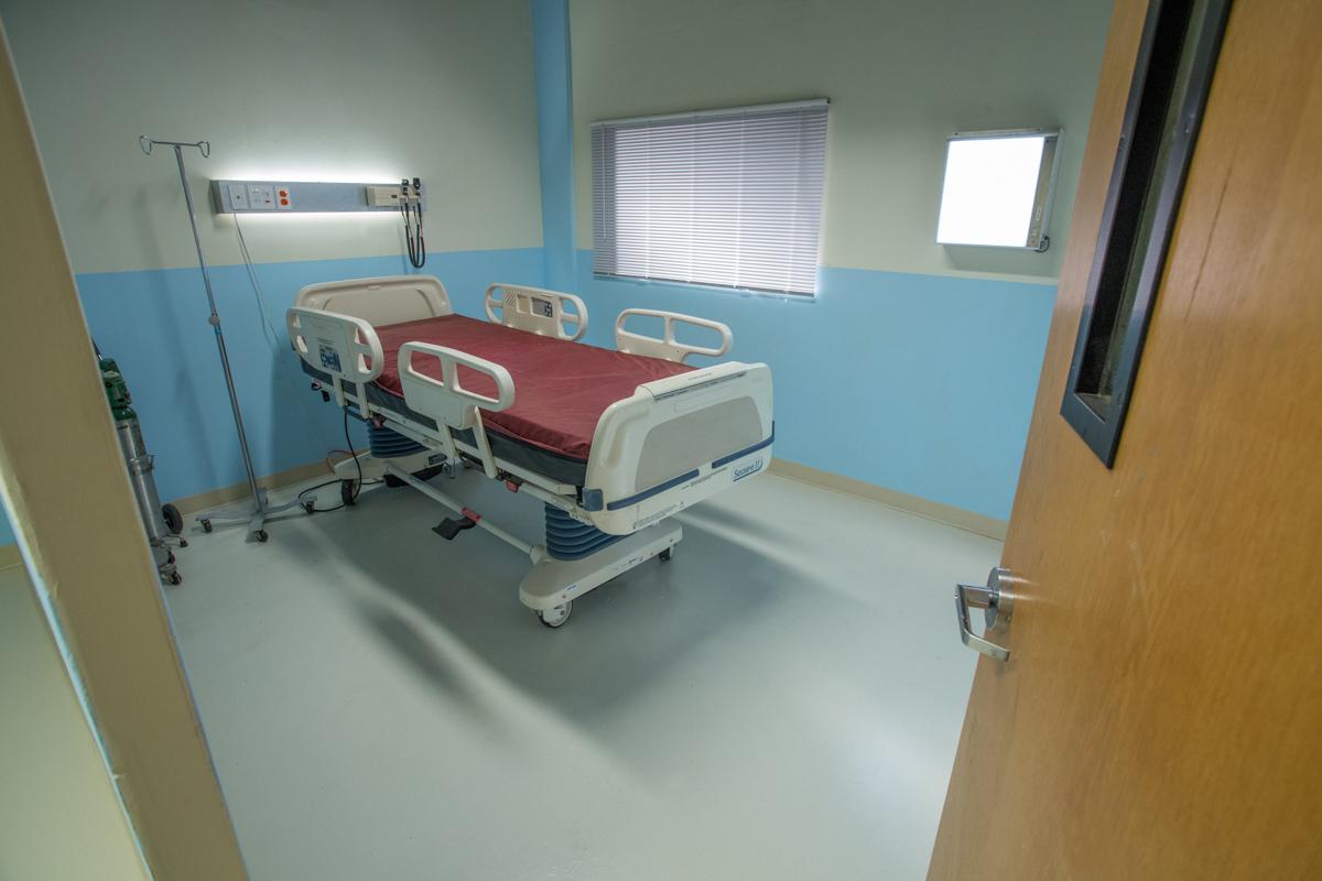hospital set for filming in la