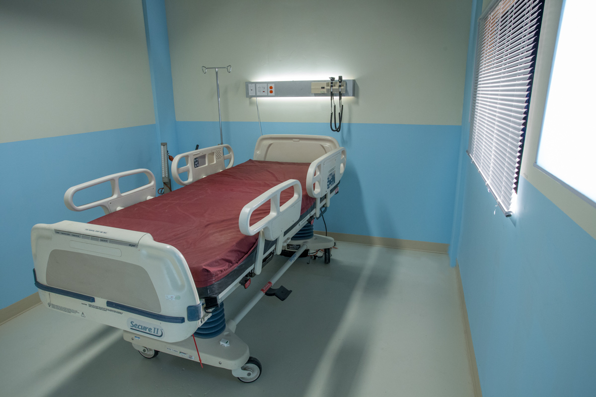 hospital sound stage in la