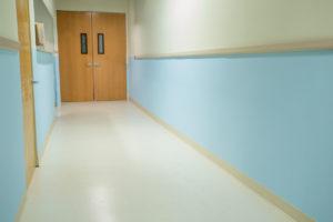 Hospital Hallway Standing Set
